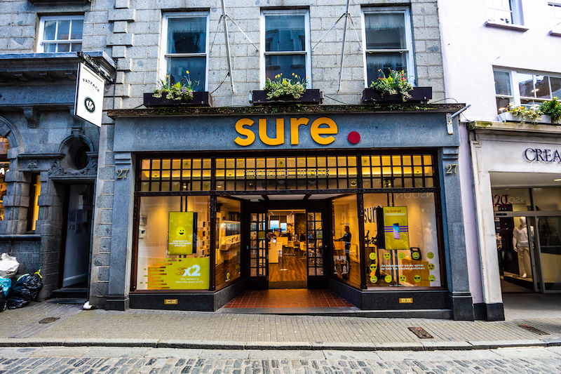Sure shop front High Street