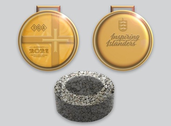 2021 Island Games medals option A