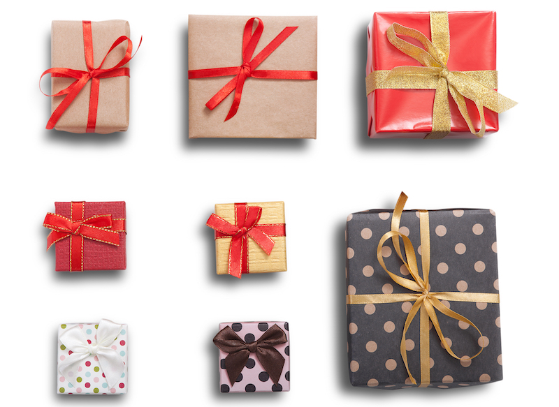 shutterstock Christmas presents