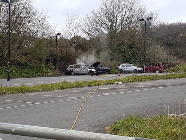 car arson Guernsey Bowl