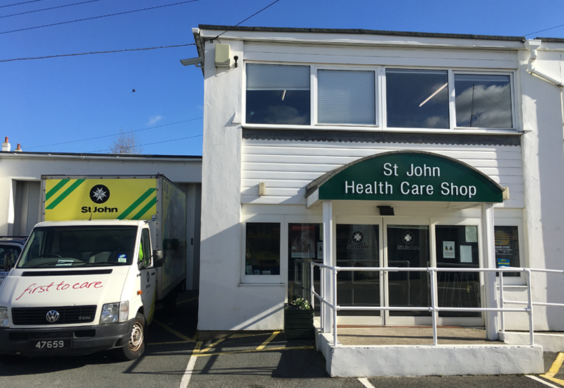 St John HealthCare Shop