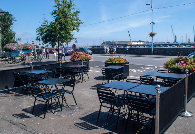 Al fresco could be more thought through   Bailiwick Express
