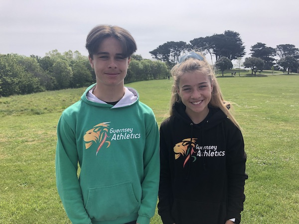Gian-Luca Robilliard and Summer Woodhead