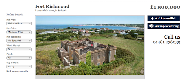 Fort Richmond for sale