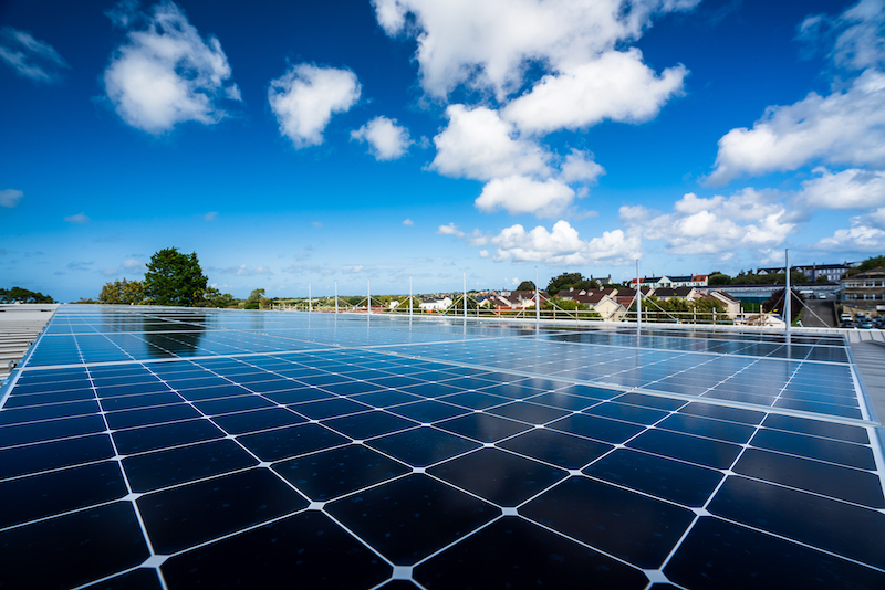 Guernsey Electricity solar panels