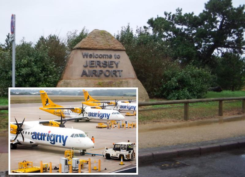 jersey airport Aurigny