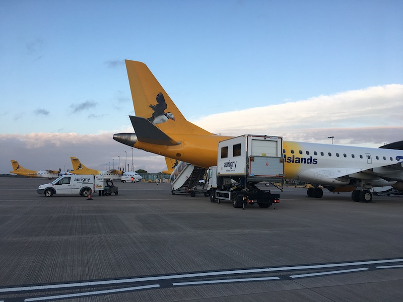 Aurigny airport