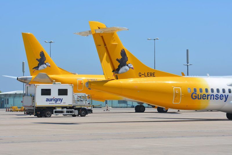 Aurigny moves to fully electronic maintenance system