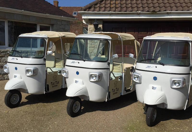 Tuk tuk tours for Guernsey 'staycations'