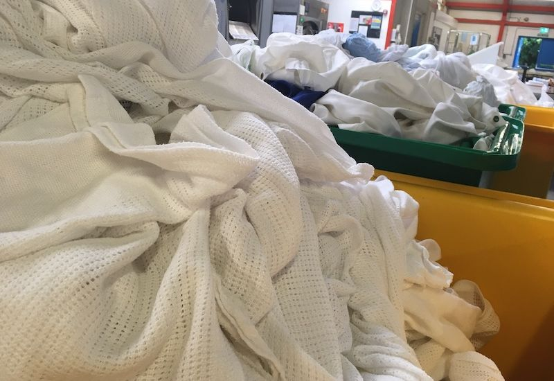 WATCH: Behind the scenes at the PEH Laundry
