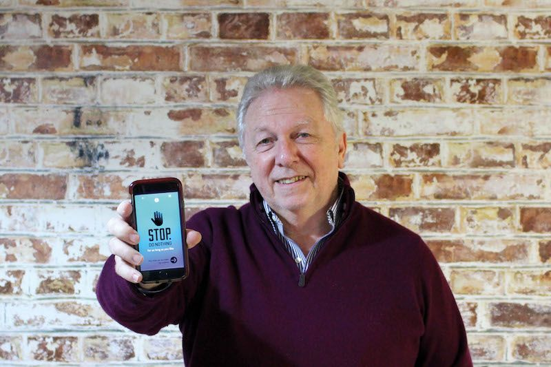 Local suicide prevention app wins global award