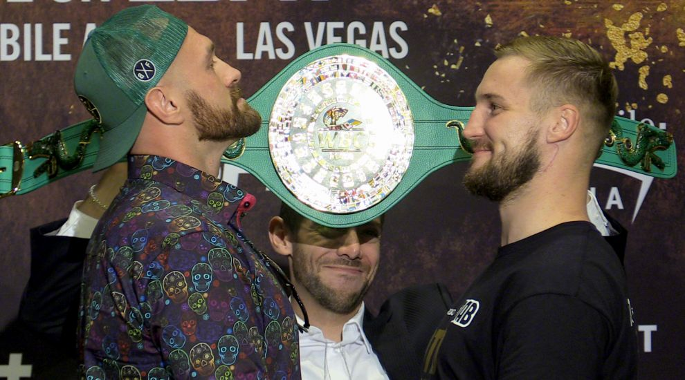 Tyson Fury: My plan is to keep healthy and be a good boy