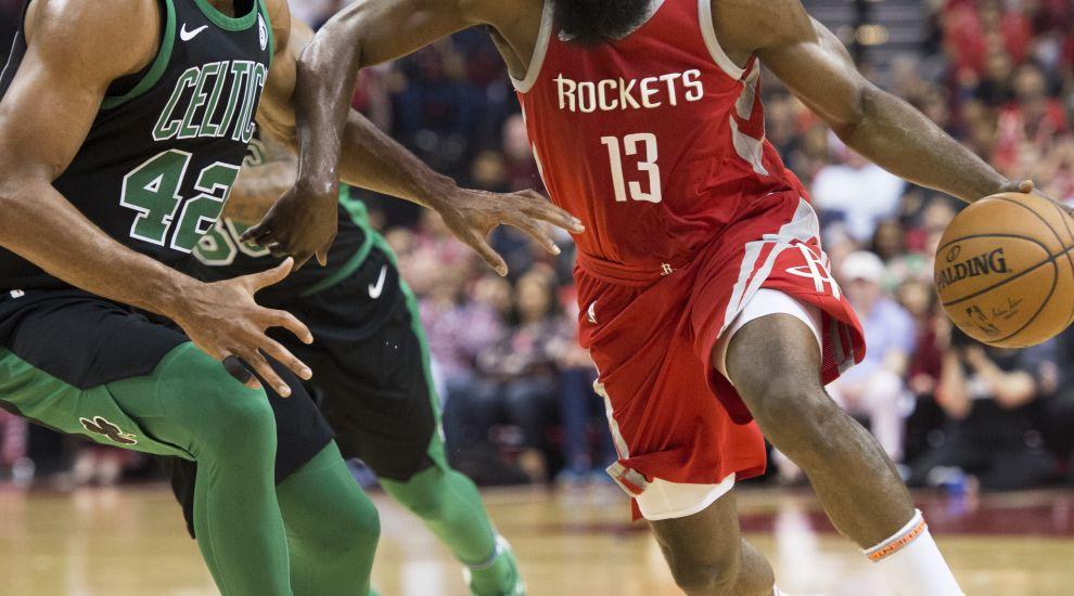 66799f7379c3 Houston Rockets extend winning streak to 15 with win over Boston ...
