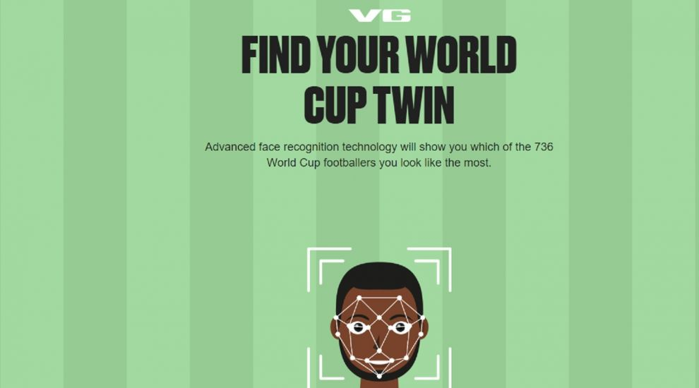 Use this selfie scanner to find your World Cup twin