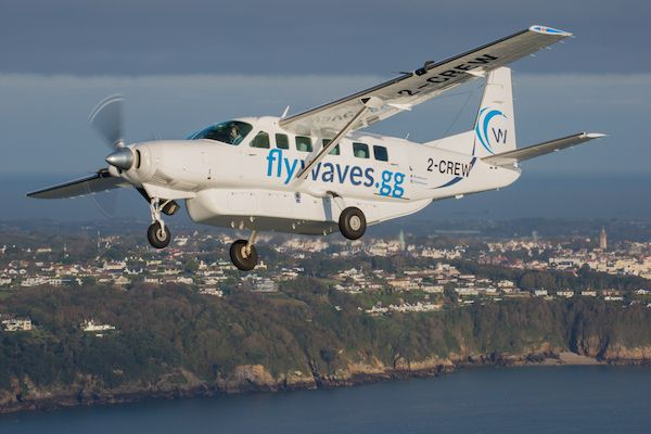 Waves granted Air Transport Licence to fly to Jersey and Alderney