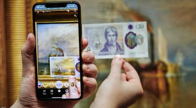 Snapchat releases interactive Lens to mark launch of new £20 note