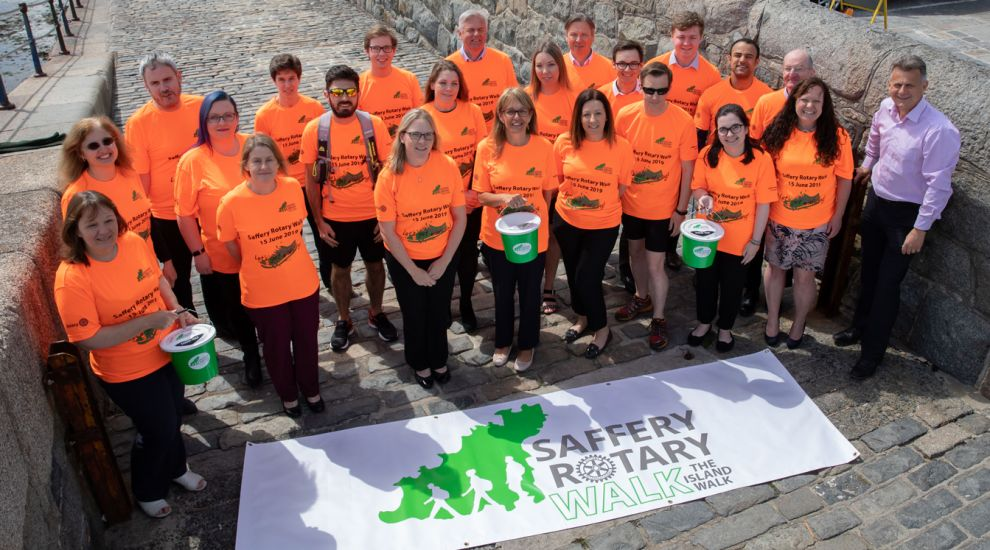 Rally up your relay team for the Saffery Rotary Walk