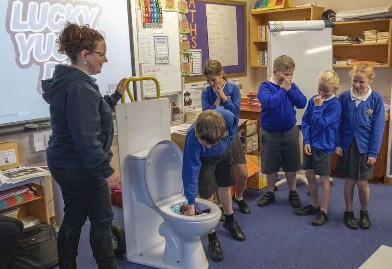 Schools water tour flushed with success