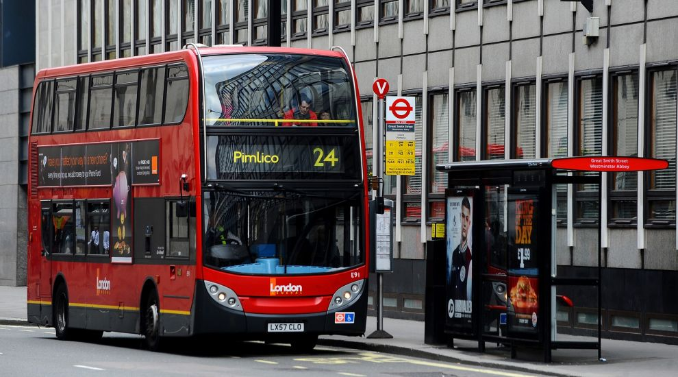 See how a smooth London bus driver had a motorcyclist&rsquo