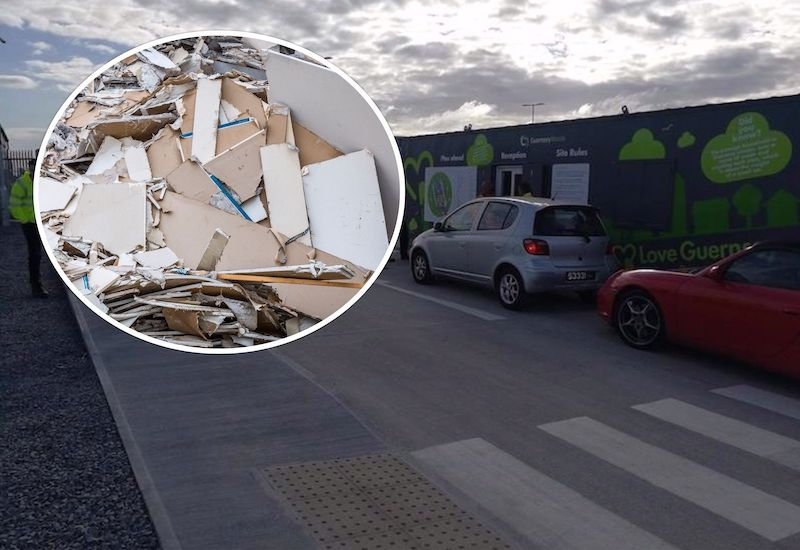 Longue Hougue to introduce plasterboard recycling