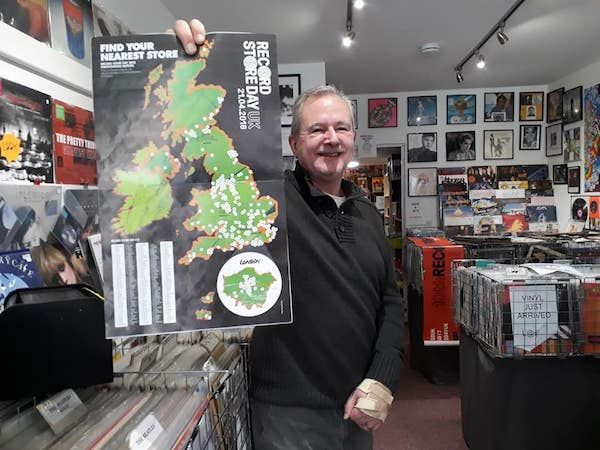 Vaughan puts Guernsey on the vinyl map