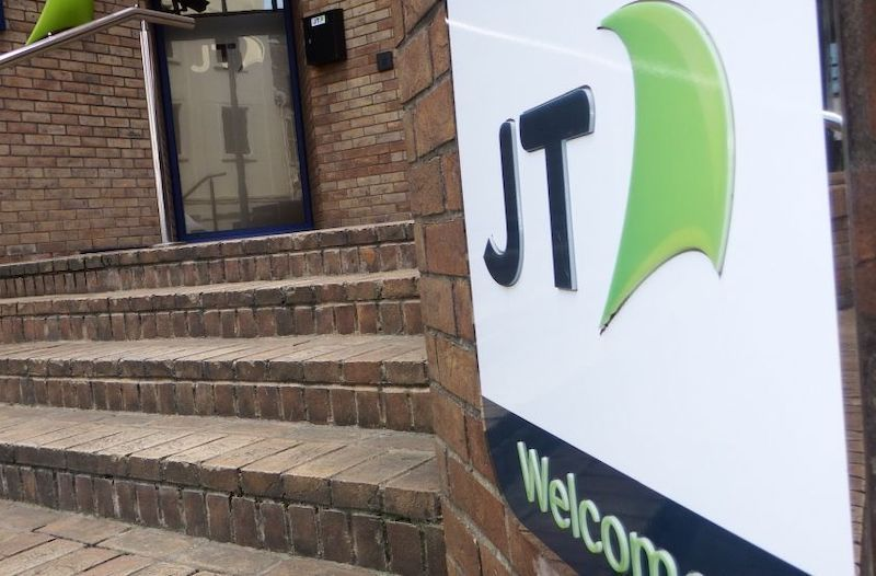 Gross profit up but revenue down at JT