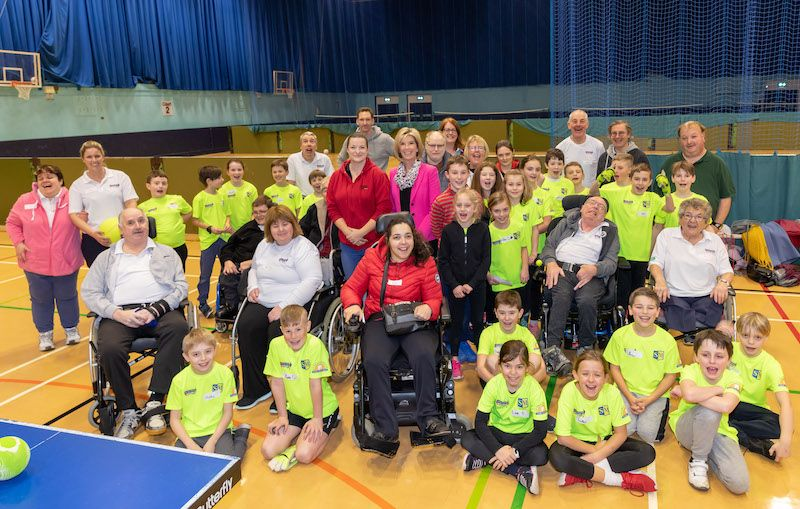 Sports and drama activities for disabled islanders