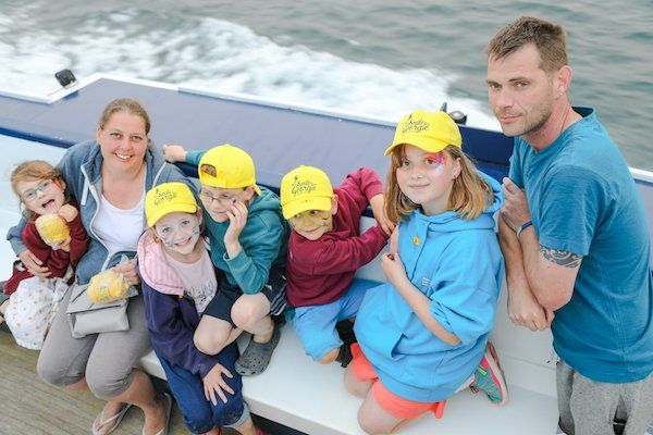 Herm trip is new charity's first smile-raiser