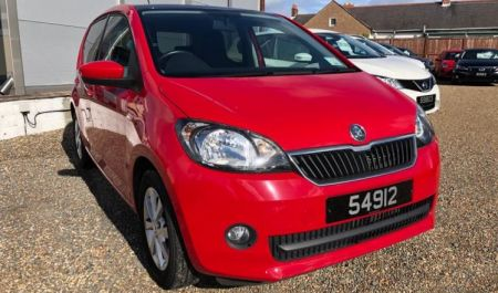 Skoda Citigo Elegance 1.0 5 Door Hatchback