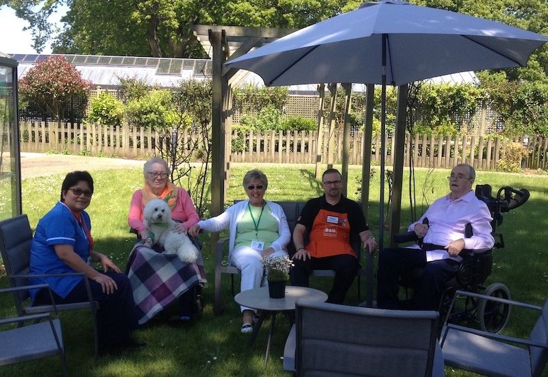 Garden furniture gift for Brehon Ward residents