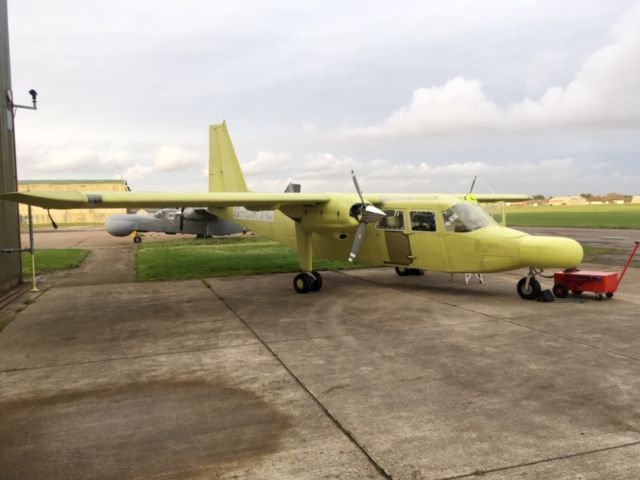 New colours for new air search plane