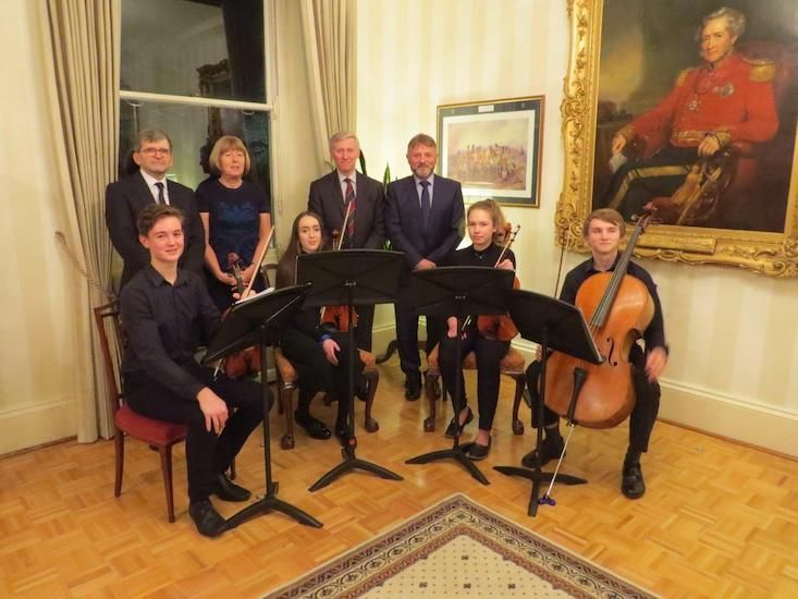 Music Centre celebrates 40th anniversary at Government House