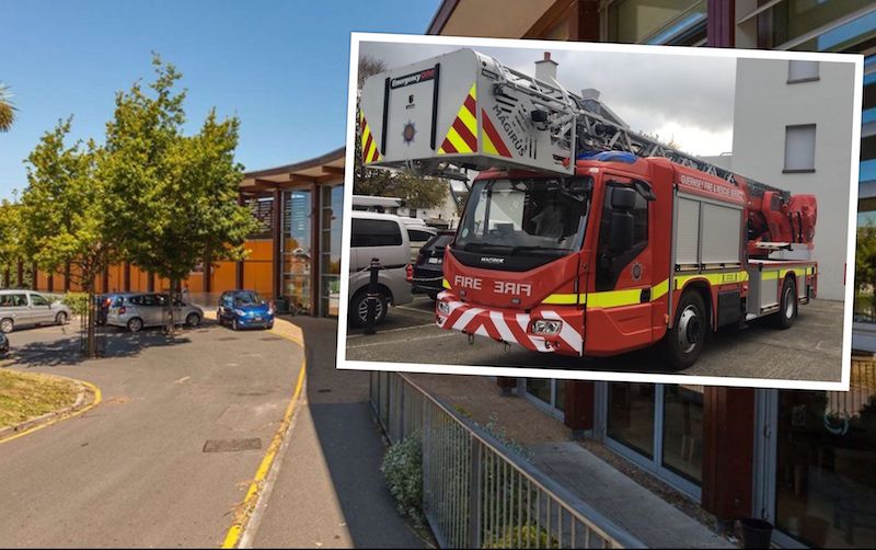 Fire service splits in two