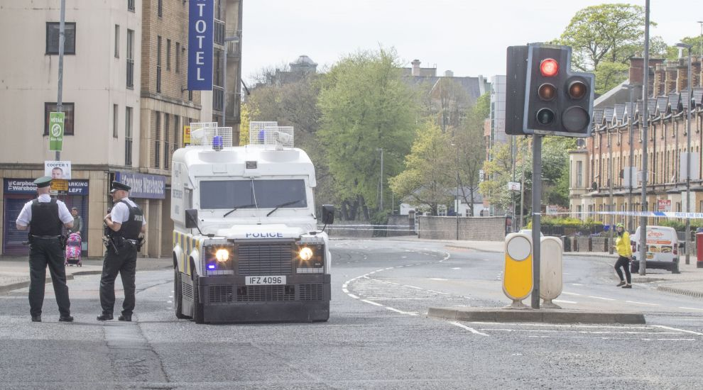 Man due in court charged with causing bomb hoax in Londonderry