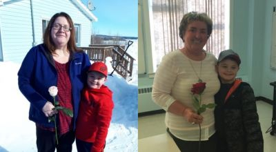 Boy, six, bought roses for every female in his town for Valentine's Day
