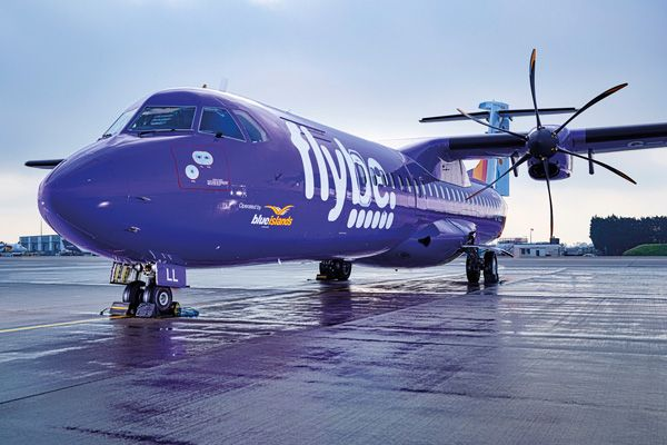 Blue Islands could fly it alone if Flybe goes