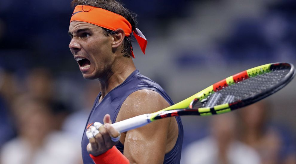 Rafael Nadal fights back to beat Dominic Thiem in US Open late-night classic