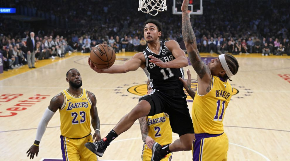 James still winless with Lakers as Spurs claim overtime thriller ... f99c874ef