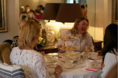 Champagne Cream Tea for Charity!