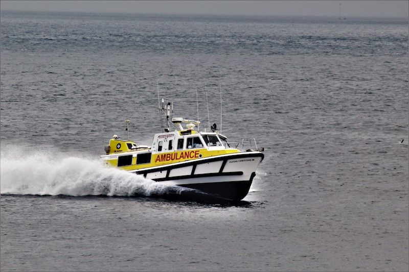 Flying Christine III sent to Sark