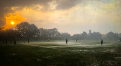 Cricketers play through torrential rain in 168-hour world record attempt