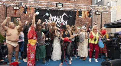 Hard Knot Hallelujah! Heavy metal knitting world title held in Finland