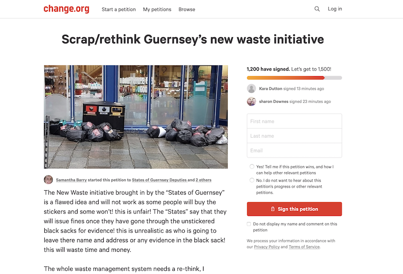 Petition wants to bin new waste strategy