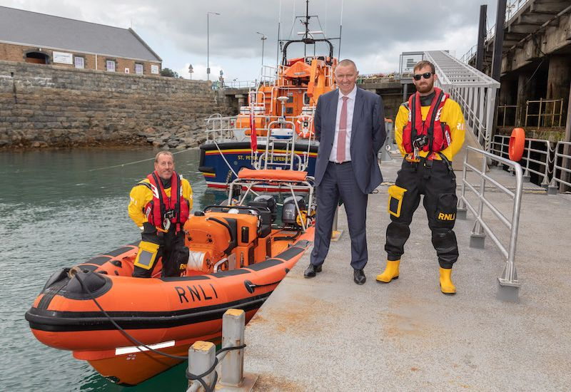 Voyonic sponsor fuel for new lifeboat