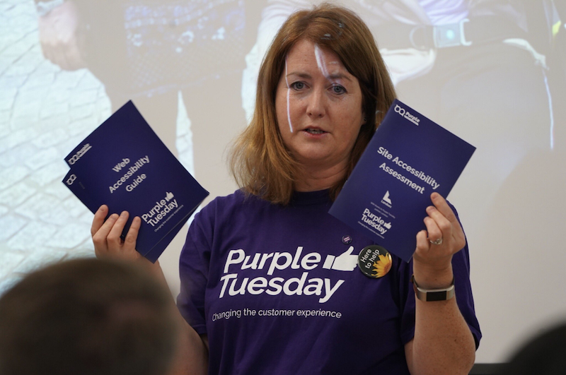 Purple Tuesday returns to support disabled islanders