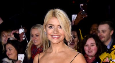 Holly Willoughby celebrates Easter in bunny bonnet