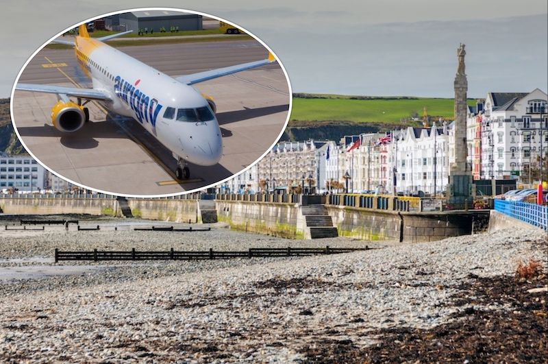Isle of Man flights a