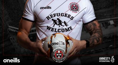Bohemian FC calls for end to Direct Provision with 'refugees welcome' shirt