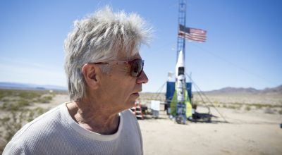 'Mad' Mike Hughes killed in California rocket crash