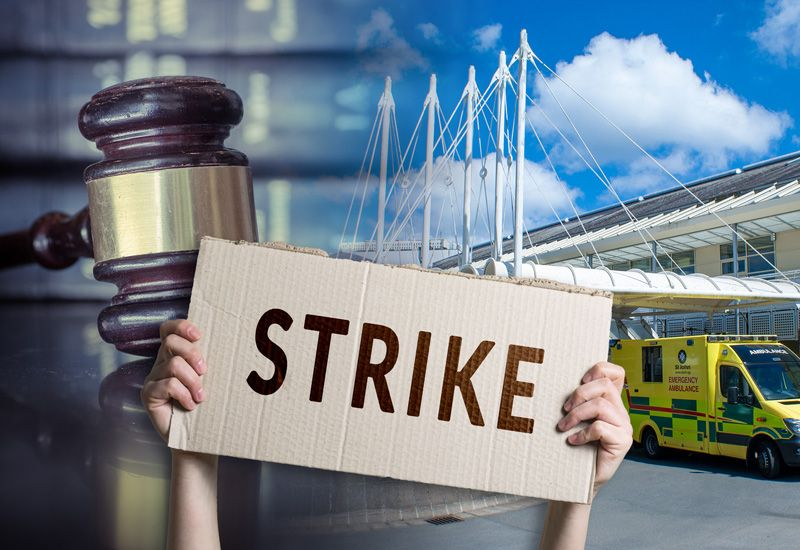 No legal protection for strikers in Guernsey